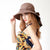 Bow Dome Outdoor Sun Hat,Summer Casual Hat