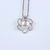 Snowflake Natural Pearl Diamond Pendant