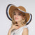 Big Brim Flower Women's Hat,Summer Sun Protection Straw Hat