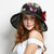 Female Summer Fashionable Silk Fisherman Hat