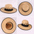 Big Brim Spring and Summer Straw Hat,Hollow-out Hand-Woven