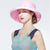 Female Foldable British Style Travel Sun Hat