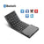 Triple Folding Bluetooth Keyboard,Ultra-thin Portable Wireless Keyboard With Touchpad