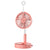 USB Charging Folding Fan,Portable Retractable Humidification Fan