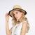 Outdoor Sunshade Lafite Burr Straw Hat