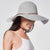 Foldable Brimmed Straw Hat