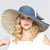 Superlarge Brim Beach Cap,  Female England Style Sun Hat