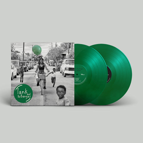 Autographed Green Balloon Limited Edition Green Vinyl + Digital Album