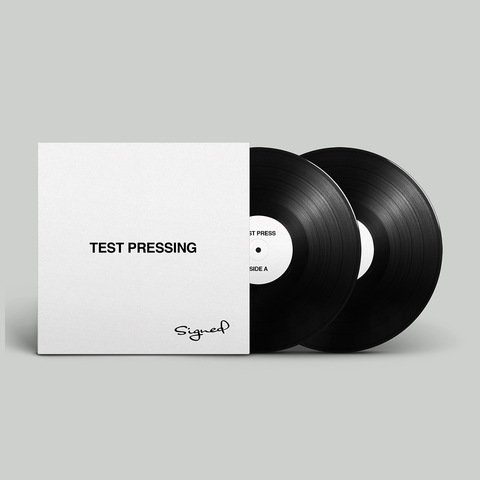 Autographed Green Balloon Test Pressing + Digital Album