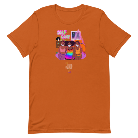 Self Care Orange T-Shirt