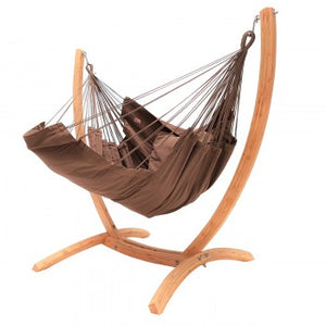 Cotton Chair Hangstoel Lounger Brown