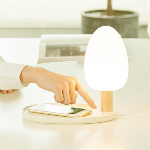 Image of LED Tree & Lake Desk Lamp