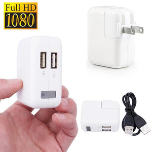 1080P HD Mini USB Wall Charger Hidden Spy Camera + USB Cable