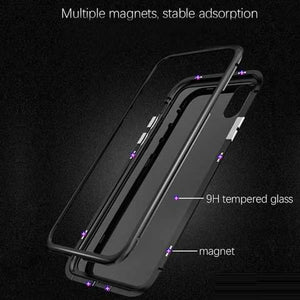 2018 Magnetic Adsorption Case for Samsung Galaxy & iPhone