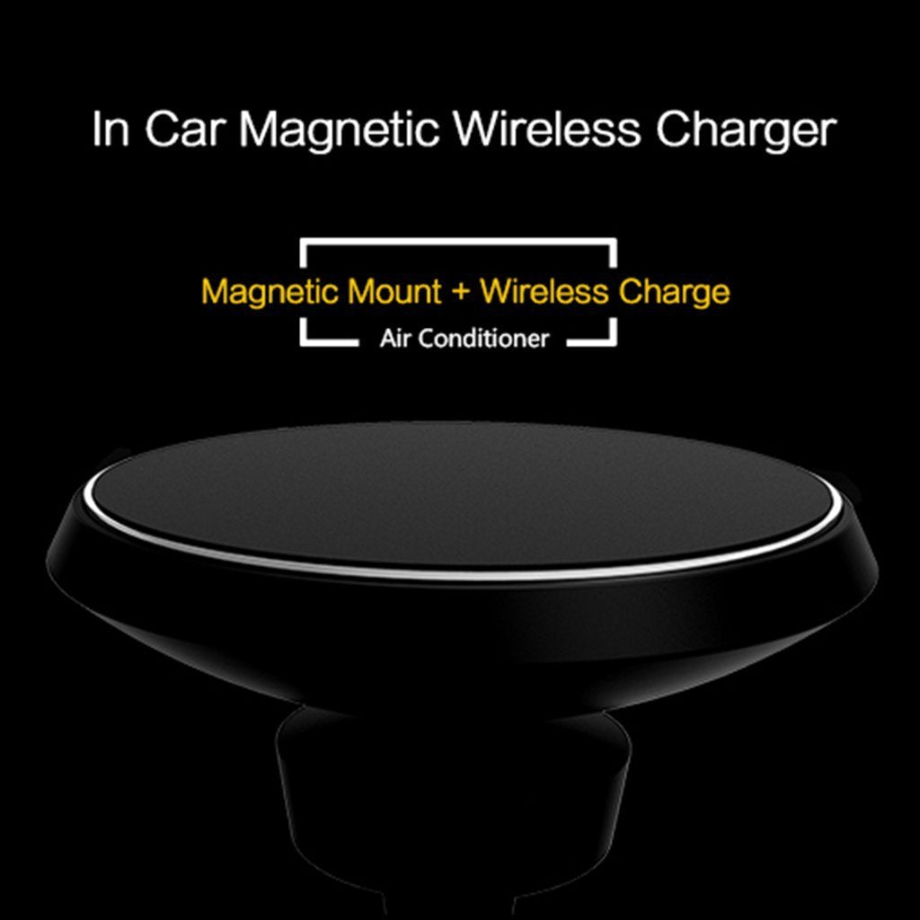 Magnetic Holder + Wireless Charger 2 in 1