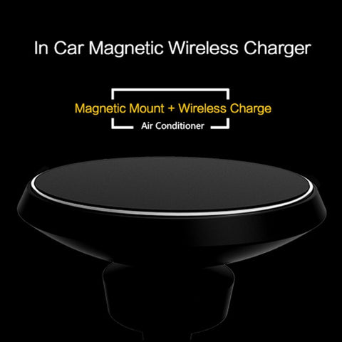 Image of Magnetic Holder + Wireless Charger 2 in 1