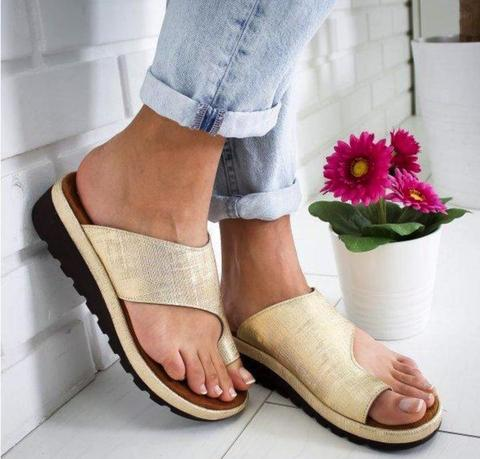 Comfy Platform Sandals - Anti-Bunion Sandals