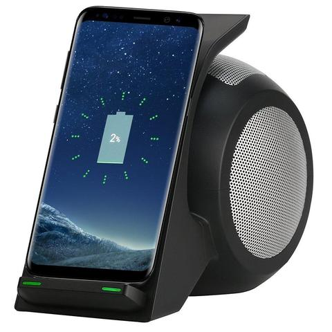 Image of Fast Wireless Charging with Bluetooth Speaker