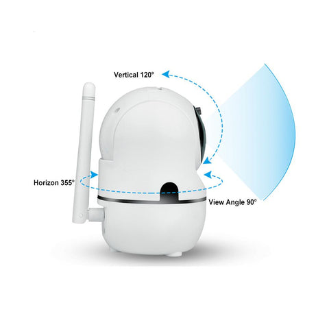 Image of 1080P HD Wireless IP Security Camera