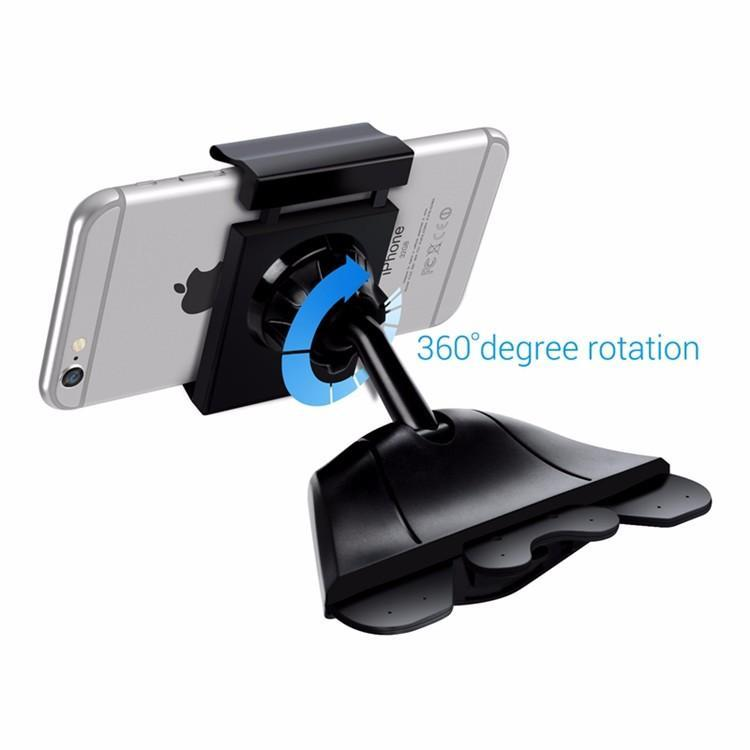 CD Slot Phone Holder