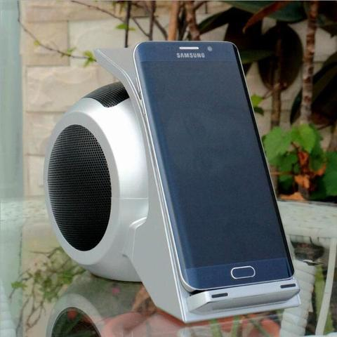 Fast Wireless Charging with Bluetooth Speaker