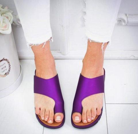 Image of Comfy Platform Sandals - Anti-Bunion Sandals