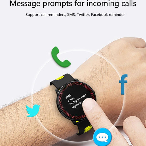 Image of Smart Bracelet Tracker and Heart Rate Blood Pressure Monitor