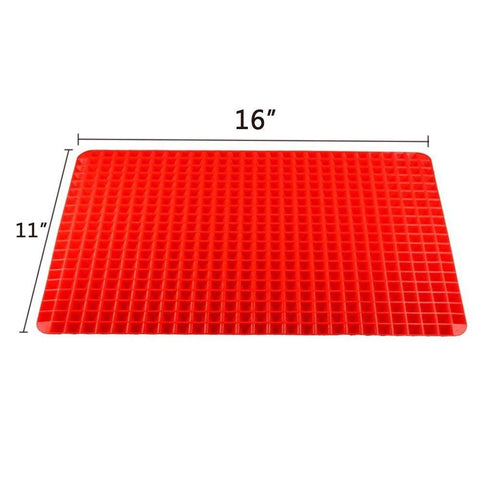 Image of Raised Cone Shaped Healthy Silicone Mat for Cooking