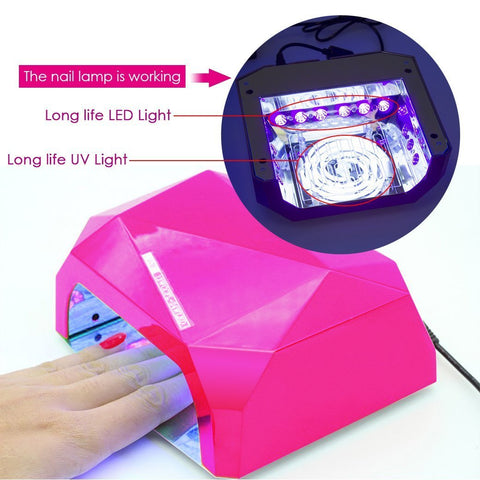 Image of Sensor LED Nail Dryer