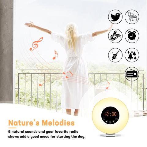 Image of Wake Up Light Alarm Clock