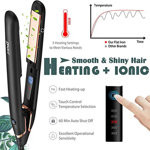 Image of Silky Hair Professional Straightener