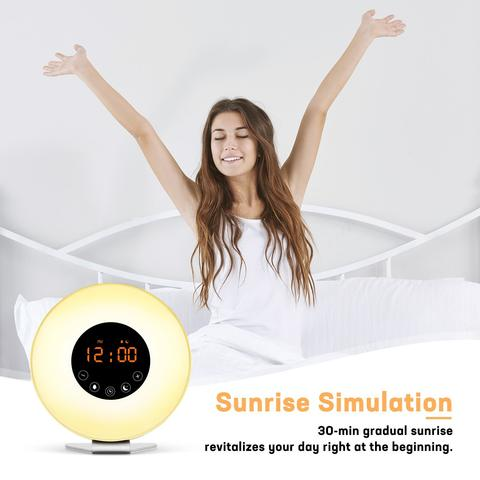 Wake Up Light Alarm Clock