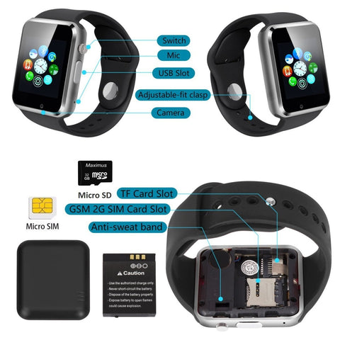 Image of Bluetooth Smart Watch - LIMITED TIME SALE FOR $27.99, ENDING TOMORROW