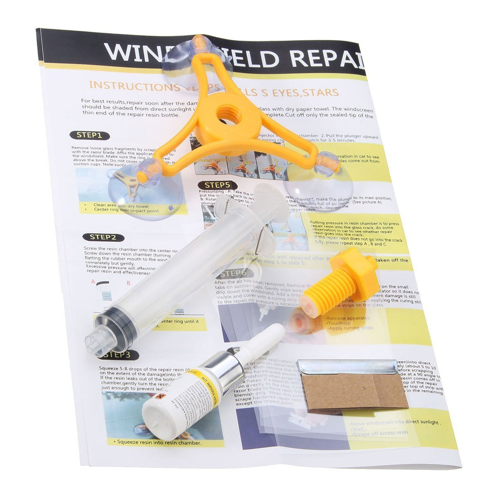 Super Windscreen Repair Kit - Fast & Easy