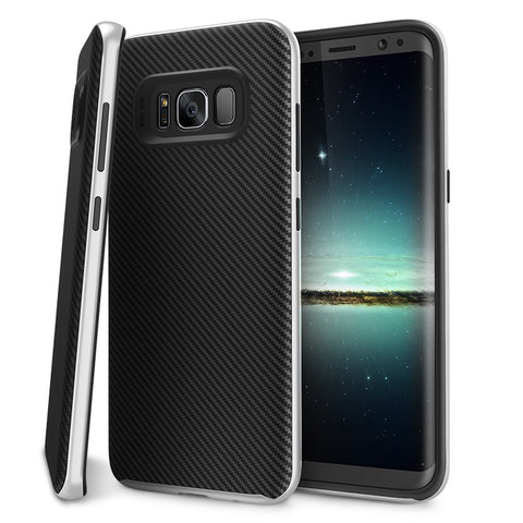 Image of Shockproof Hard Soft Rubber TPU Case For Samsung Galaxy