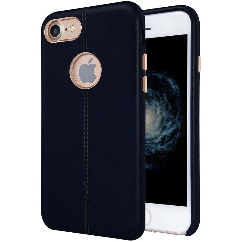 Luxury Ultra-Thin Leather Back Case For iPhone