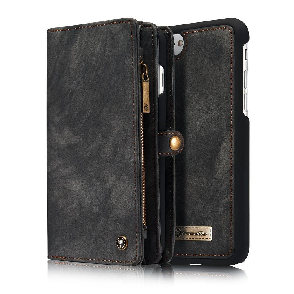 Removable Leather Wallet Flip Stand Card Slot Case For iPhone