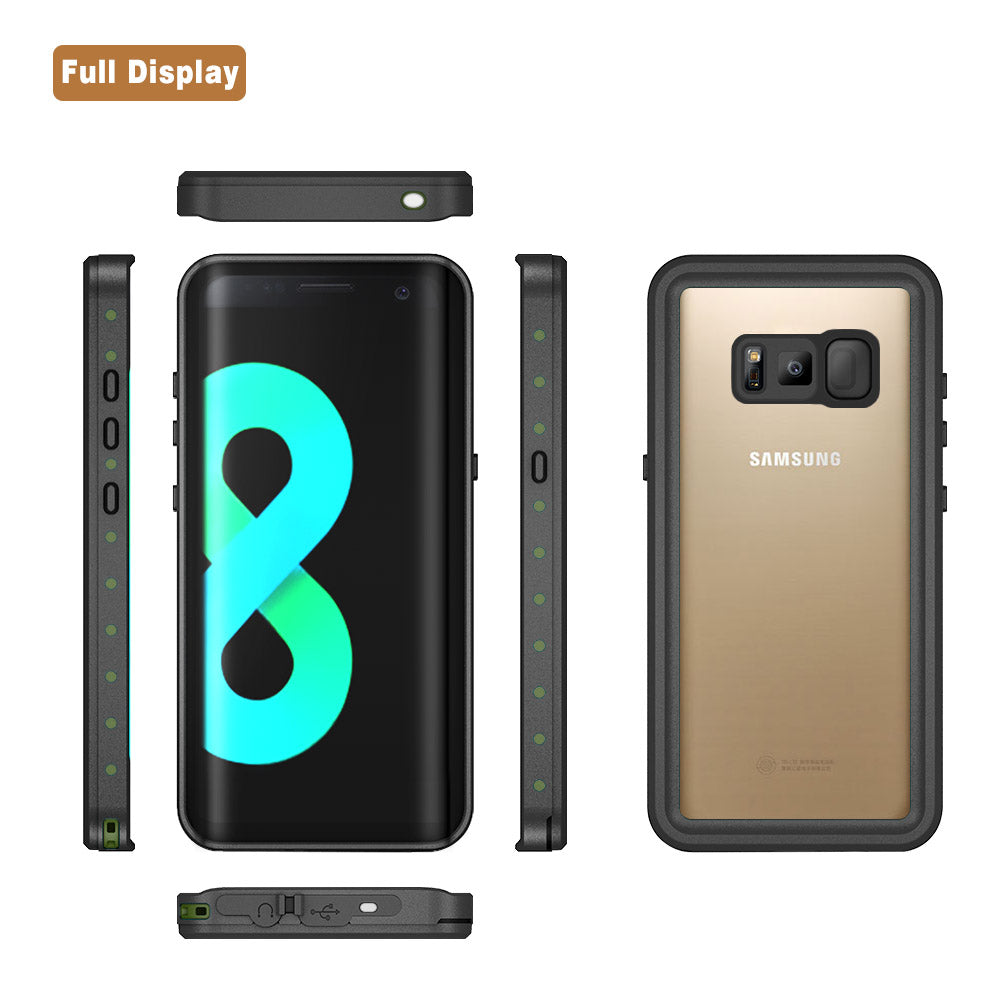 WATERPROOF & SHOCKPROOF CASE FOR S8 & S9