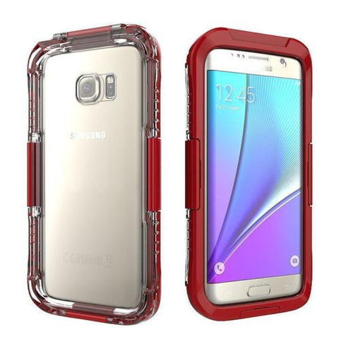 Waterproof Shockproof Dirtproof Case For Samsung Galaxy