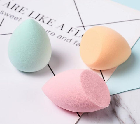 Image of Wet & Dry Makeup Puff Sponge (Set of 3)