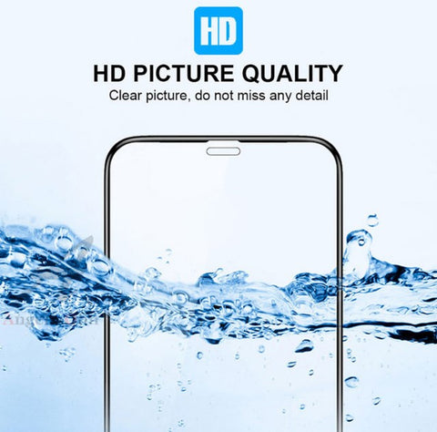 10D Tempered Glass Screen Protector for iPhone (3 PCS)