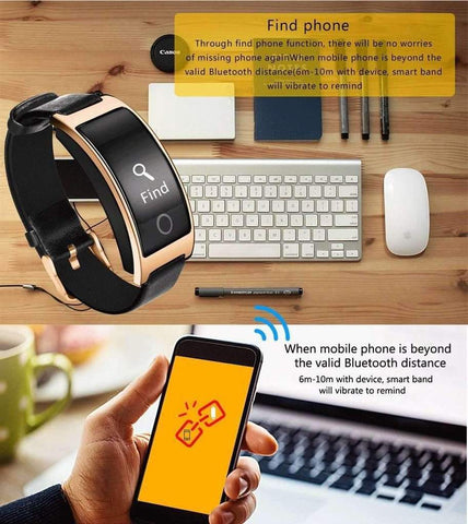 Image of ThinkBand™ Blood Pressure Smart Watch and Heart Rate Monitor