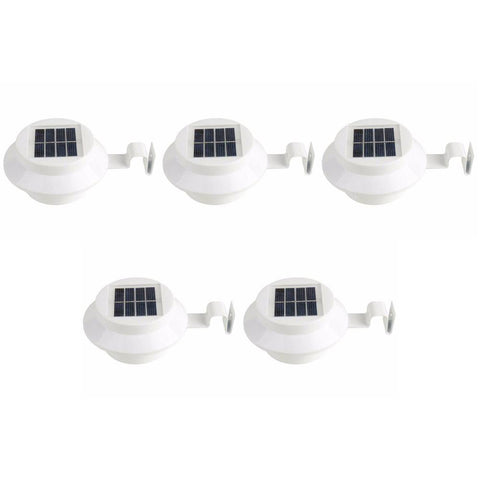 Image of EverLight - Outdoor Solar Powered LED Lamp (5-Pack)