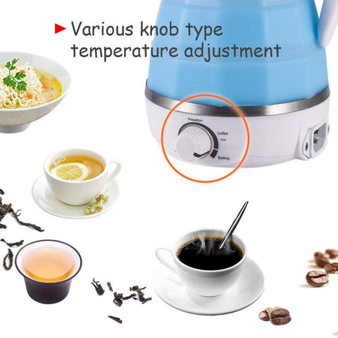 0.5L Foldable Travel Electric Kettle