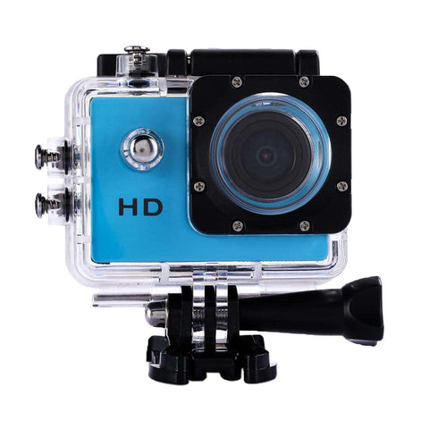 Image of Outdoor Underwater Full HD Action Camera