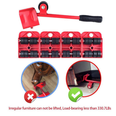 Image of Furniture Lifter Movers Tool Set, 4 Packs