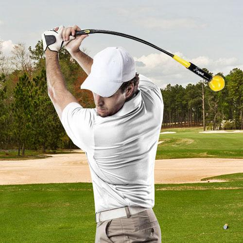 THE GOLF WHIP GOLF SWING TRAINER AIDS