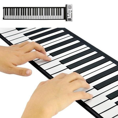 """Piano Roll"" Portable Electronic Keyboard"