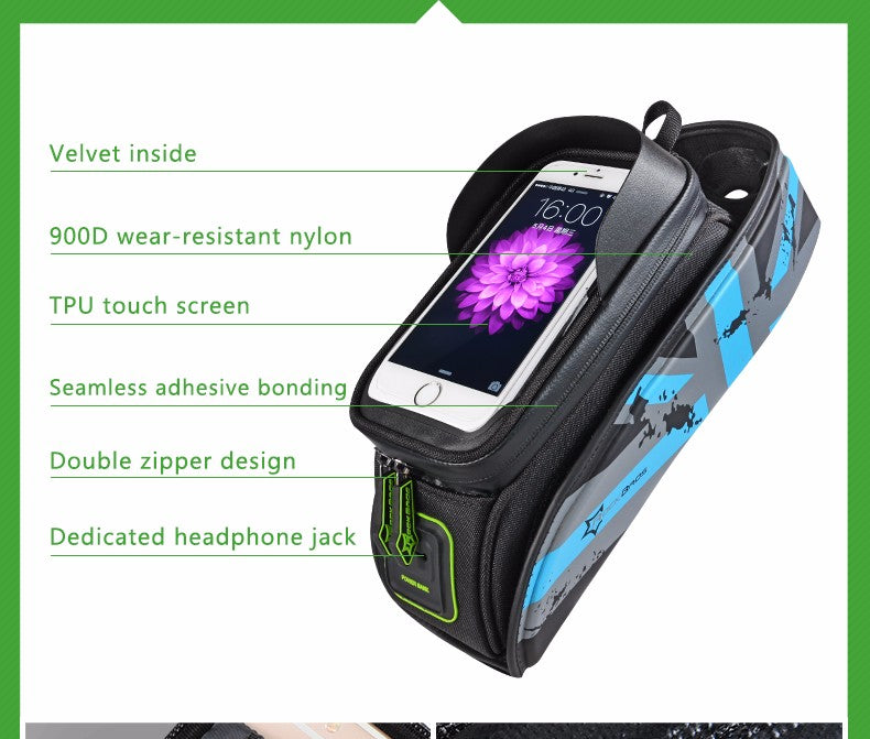 Bicycle Rainproof Touch Screen Bags