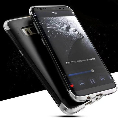 Image of Metal Frame Case For Samsung Galaxy